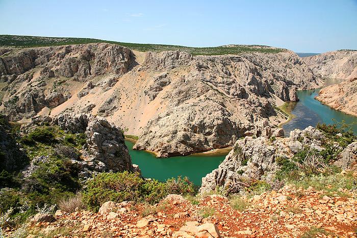 Каньон реки Зрманья