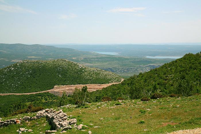 Вид на долину с Туловой Гряды