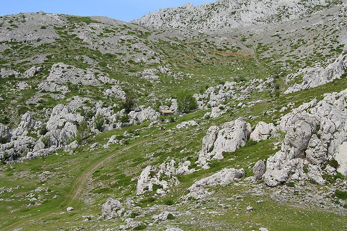 Долина у подножия Мали Алан