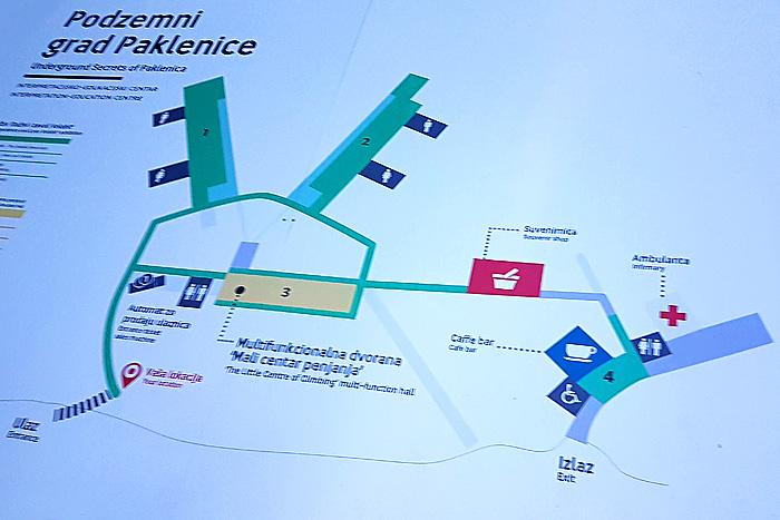 Схема «Подземного города»