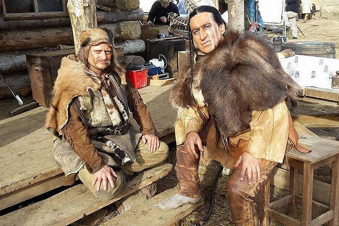 Эмир Муллер в роли апача
