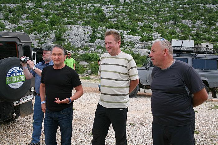 Наши проводники по горным тропам: Сандро, Звонимир и Марин
