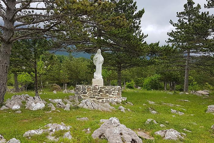 Статуя Святой Марии