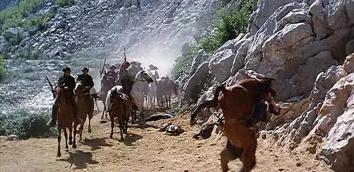 Кадр из фильма «Резня в Большом Каньоне», 1964