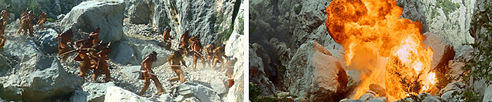Кадры из фильма «Виннету и Шеттерхэнд в Долине Смерти»