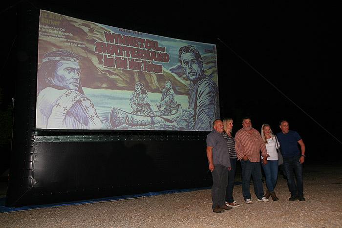 Перед просмотром фильма в каньоне Малая Пекленица