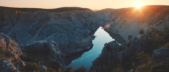 Каньон реки Зрманя