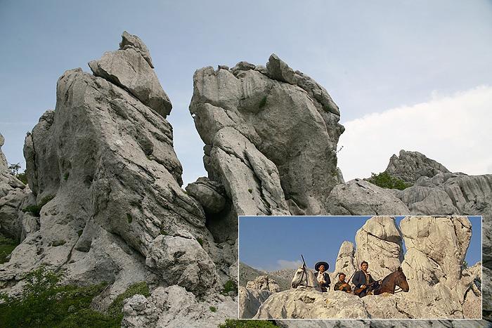 Место съемок фильма «Виннету – сын Инчу-Чуна»