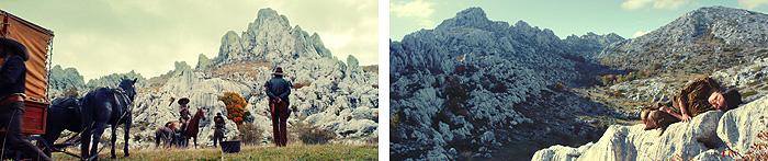Кадры из фильма «Тайна Серебряного Озера», снятые на Туловой Гряде