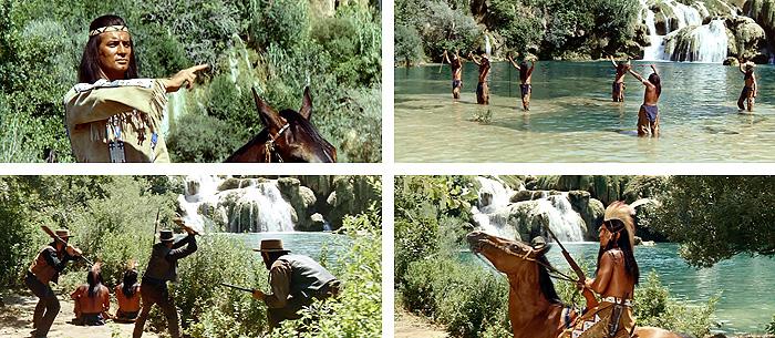Кадры из фильма «Виннету и Олд Шеттерхэнд в Долине Смерти»