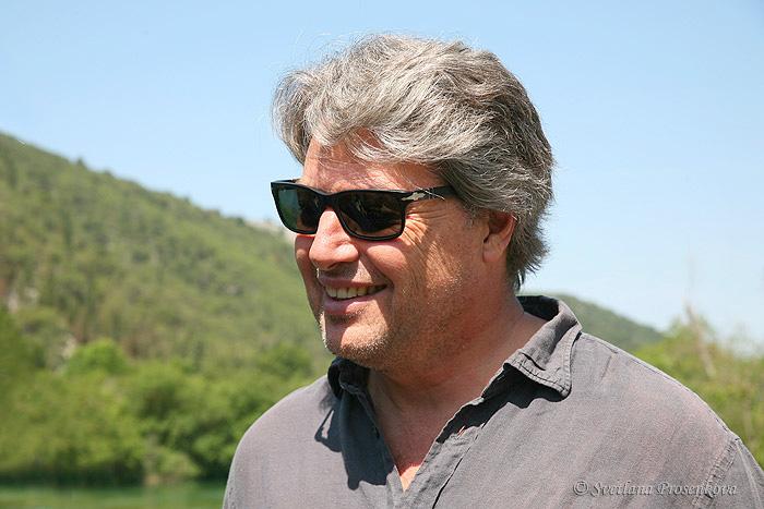 Кристофер Баркер в Крка