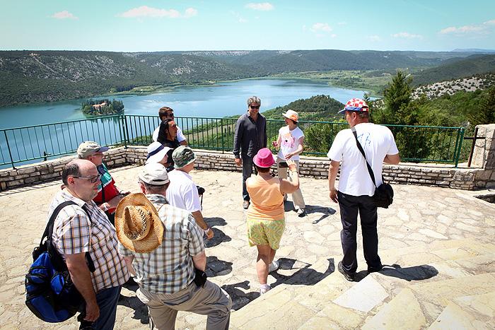 Фотосессия с Кристофером Баркером на смотровой площадке в Крка