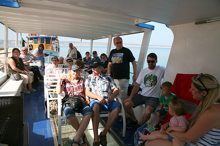 Наша часть команды на борту «Excursions»