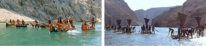 Кадры из фильмов «Виннету – сын Инчу-Чуна» и «Виннету III»