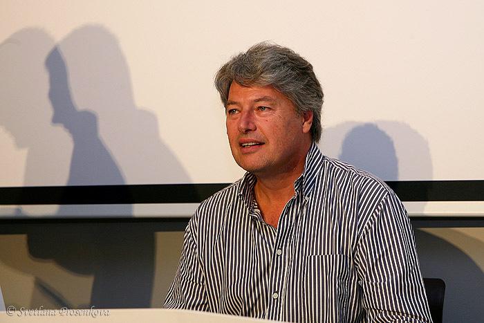 Пресс-конференция с Кристофером Баркером в «Подземном городе» Пакленицы