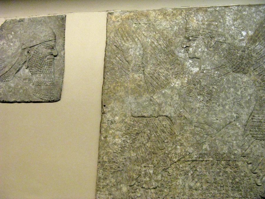 British Museum - Assiria beardless