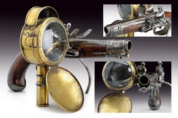 Steampunk Tactical Light