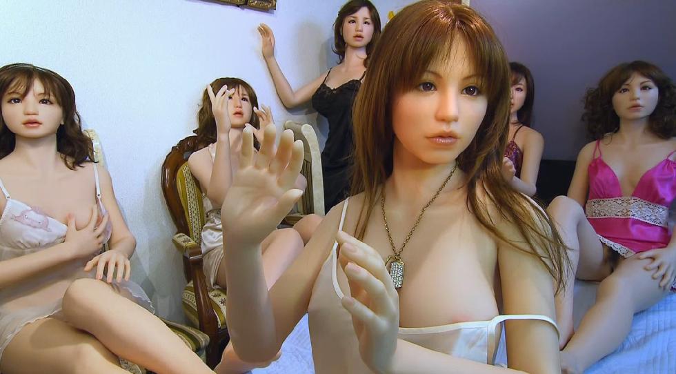 Видео секс с роботом