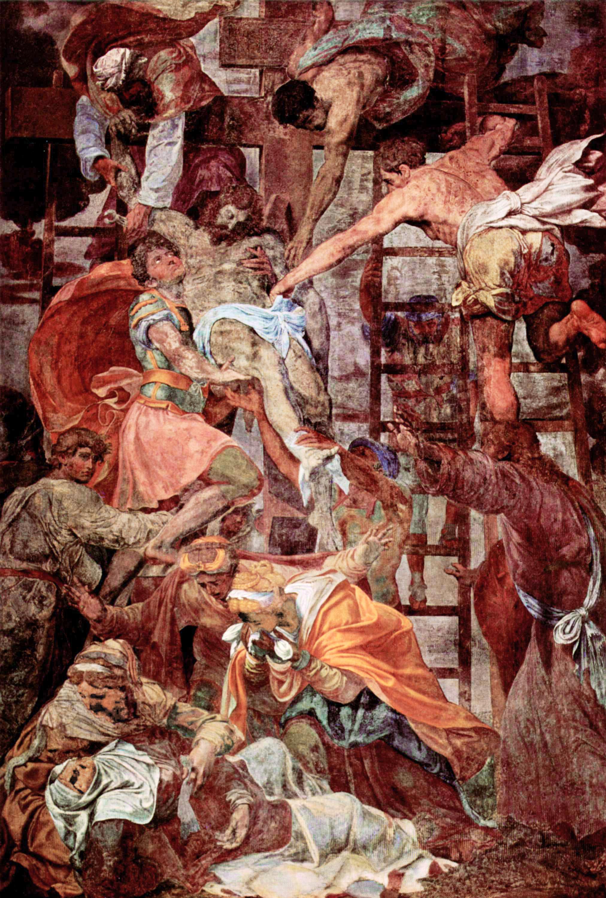 12. Даниэле да Вольтерра. Снятие с креста