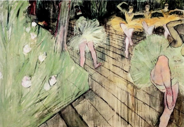 Тулуз Лотрек. Балетная сцена