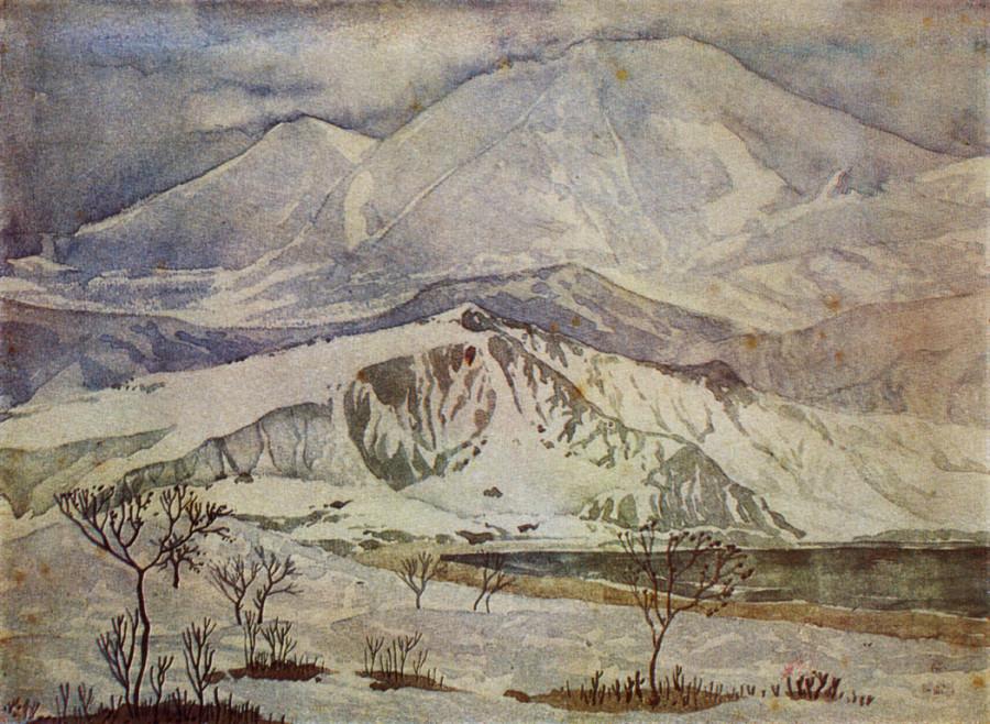 Холмы из мрамора и горы из стекла. 1929