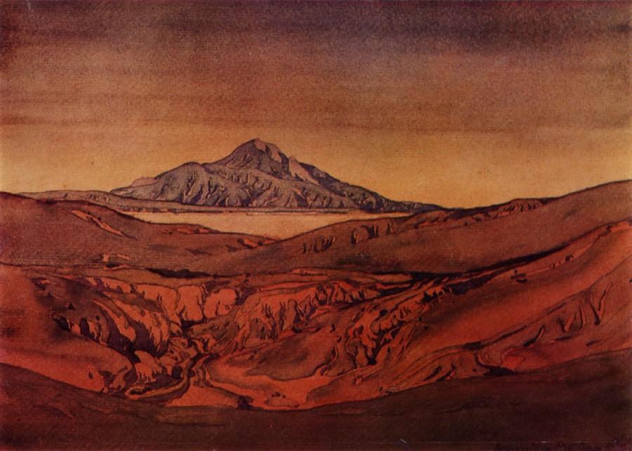 Красные холмы. 1925