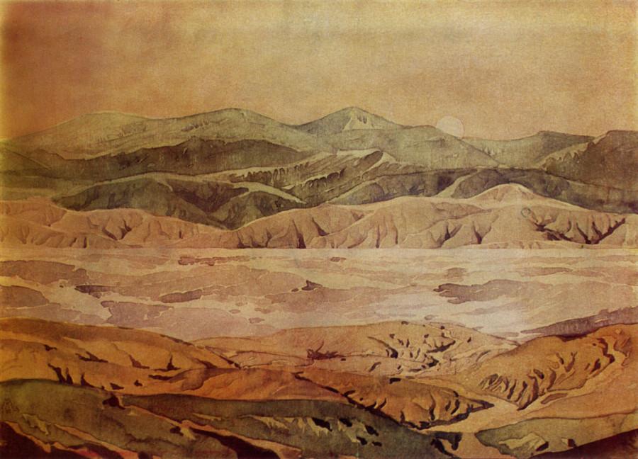 Бархат и порча. 1928