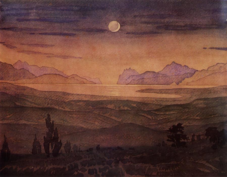 Медный бубен ночи. 1925