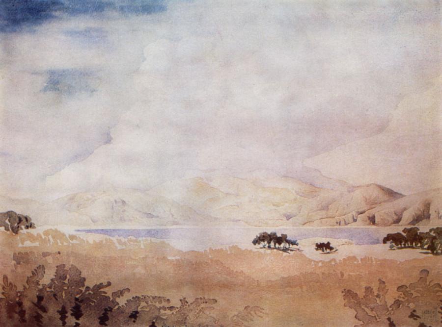 Крыло полуденной химеры. 1927