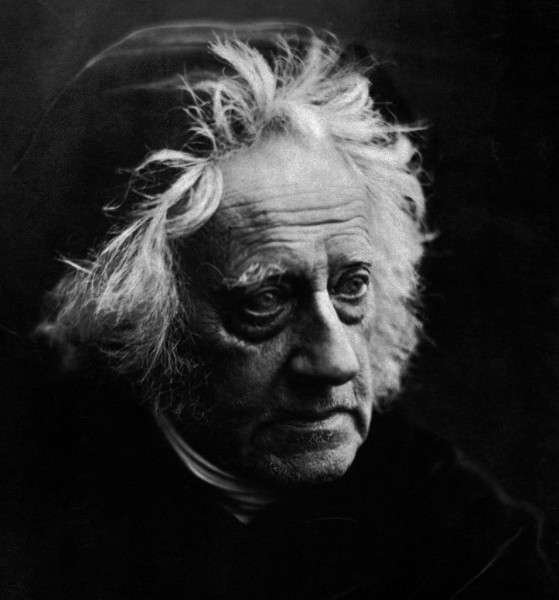 954px-Sir_John_Herschel_with_Cap_by_Julia_Margaret_Cameron_(detail)