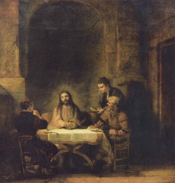Рембрандт. Вечеря в Эммаусе