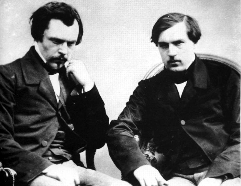 Эдмон и Жиль де Гонкур