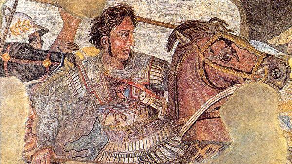 Александр Македонский (фрагмент фрески)