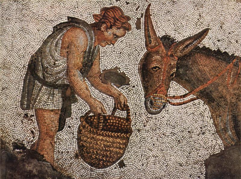 Византийская мозаика (фрагмент)