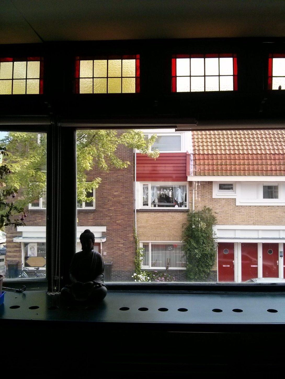 Haarlem window view (photo by e.s.b.)