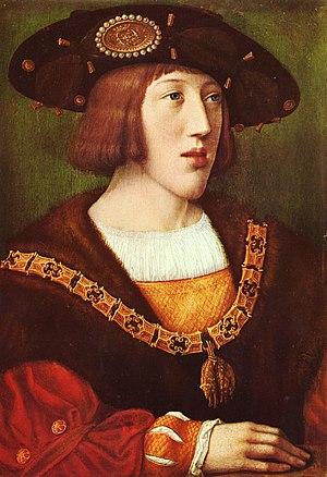 «Портрет Карла V Габсбурга», Бернарт ван Орлей