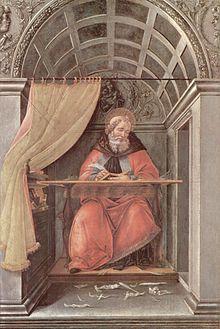 Сандро Боттичелли. «Св. Августин»