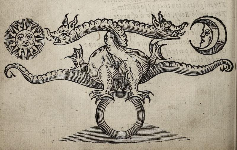 """Иллюстрация из """"Theatrum Chemicum Britannicum"""" (1652)"""