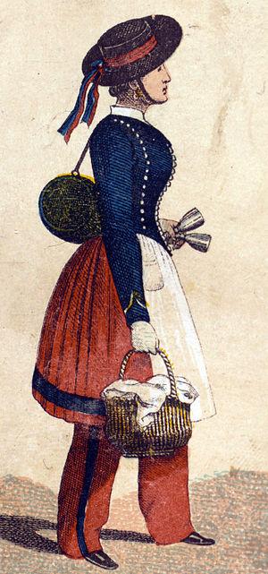 Французская маркитантка (1853)