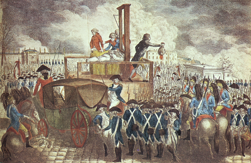 Казнь Людовика XVI (Георг Генрих Сивекинг)