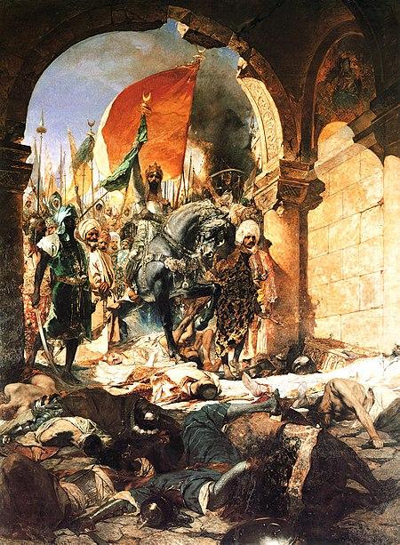 Вступление Мехмеда II в Константинополь. Картина Ж.-Ж. Бенжамен-Констана (1876)