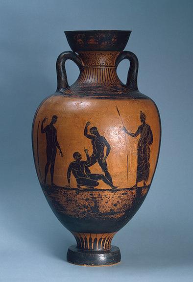 Древнегреческая амфора VI-V в. до н.э.