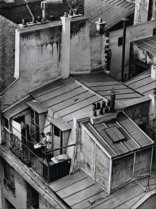 Андре Кертес, Латинский квартал (1929)