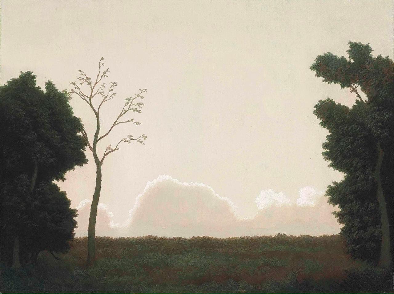 """""""Закат"""" (Sunset), Элджернон Ньютон."""
