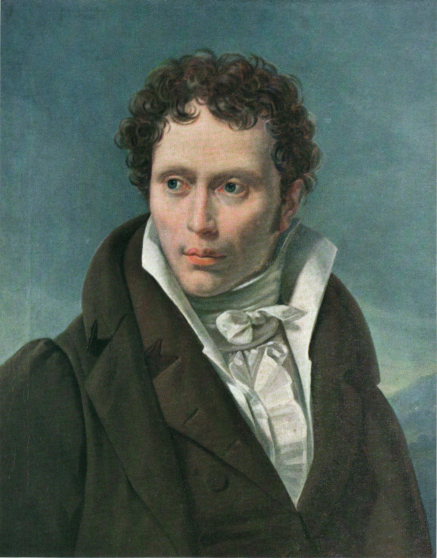 Портрет 29-летнего Артура Шопенгауэра кисти Л. Руля (1815)