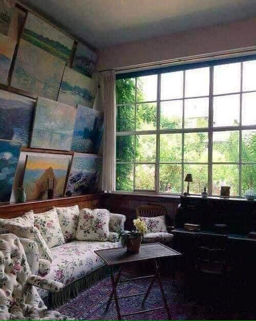 Дом Клода Моне в Живерни (Giverny).