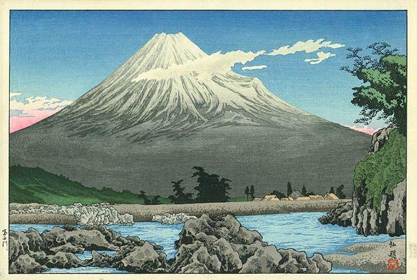 """Такаши Шотеи """"Река Фудзи"""""""