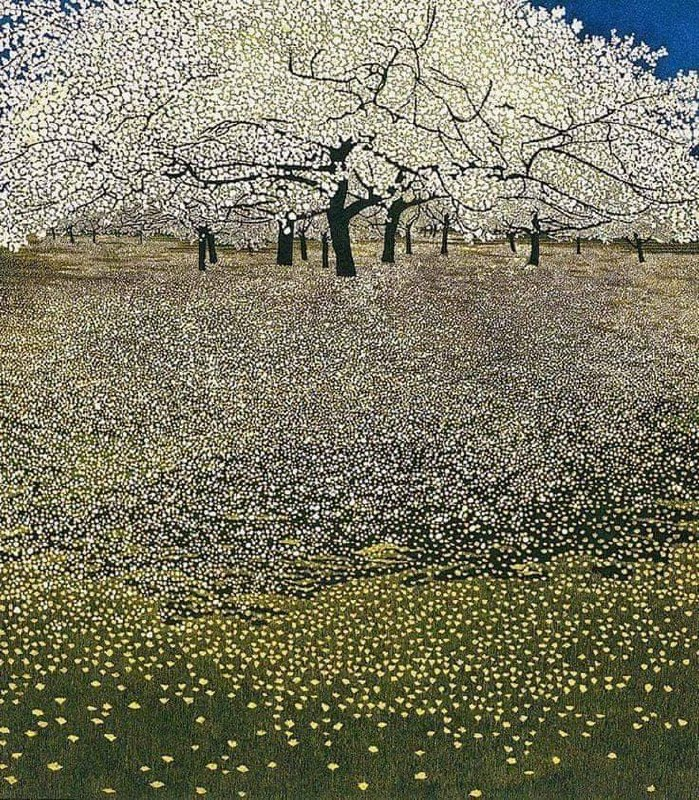 «Ранняя весна» Густав Климт.