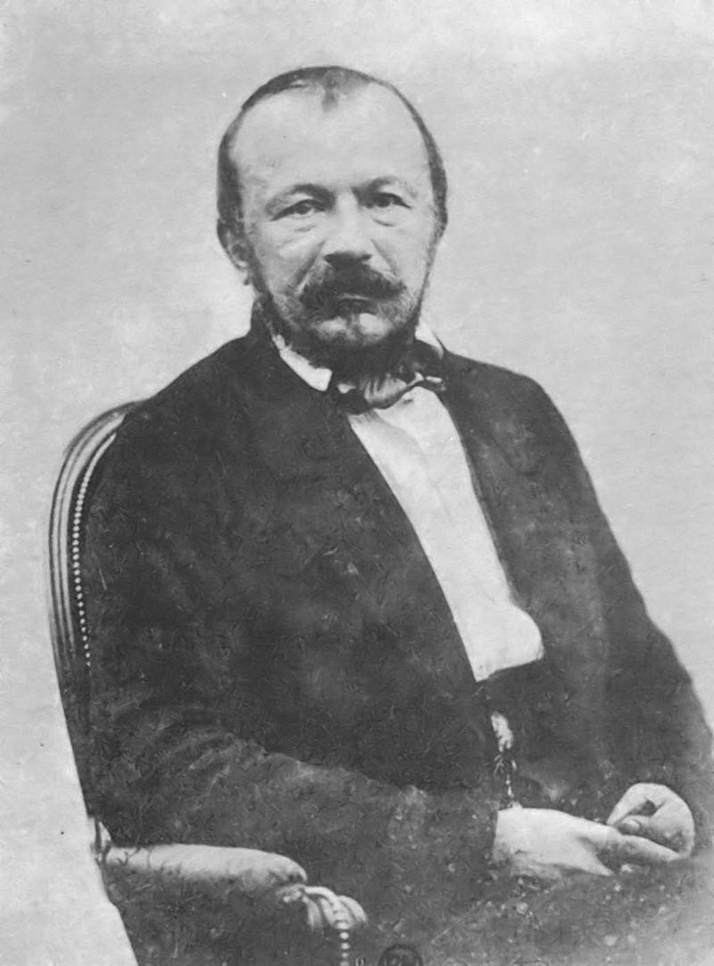 Жерар де Нерваль (фотография Надара)