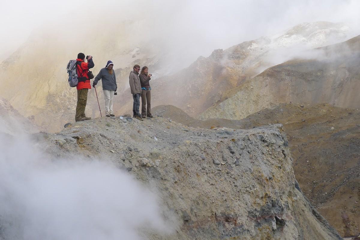 вулкан Мутновский, Камчатка